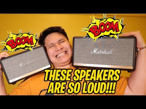 Marshall Acton II and Marshall Stanmore II Voice - THE LOUDEST TALKING SPEAKERS