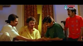 Chiranjeevulu Full Movie Part 12/14 - Ravi Teja, Sanghavi, Shivaji, Nagendra Babu, Brahmaji,
