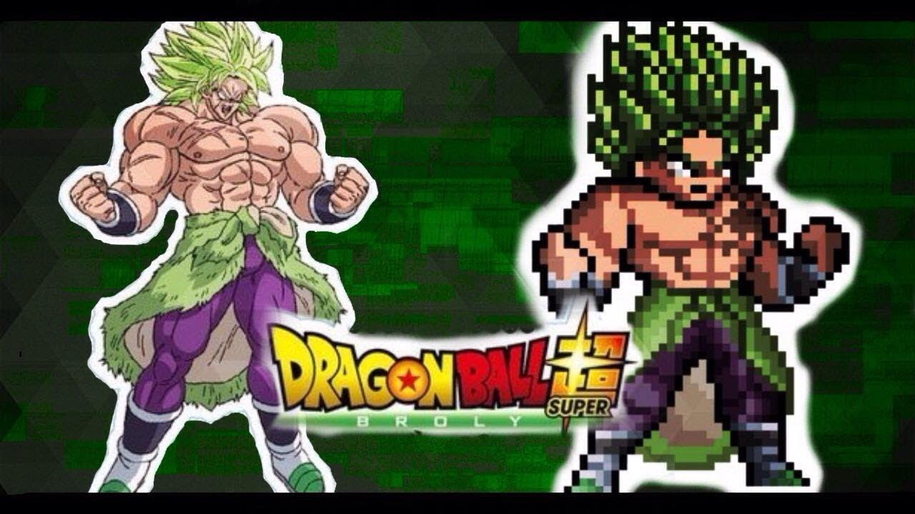 Dragon Ball Super Broly Sprite Creation Dragonballz Amino