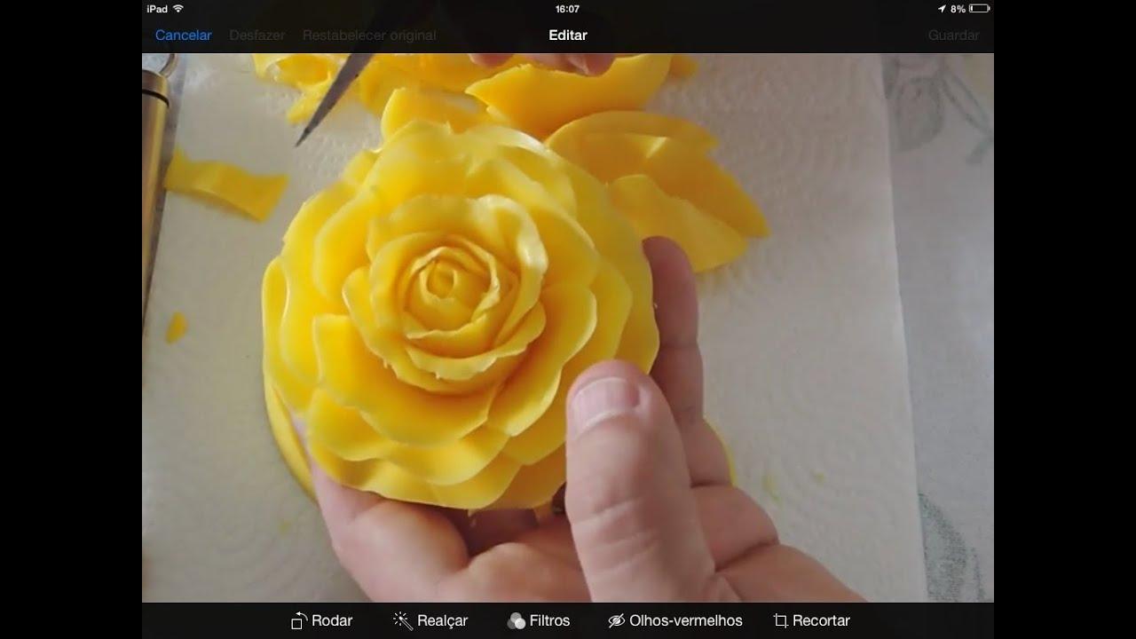 CARVING A ROSE IN SOAP / 100 Aromas Esculturas em sabonete ...