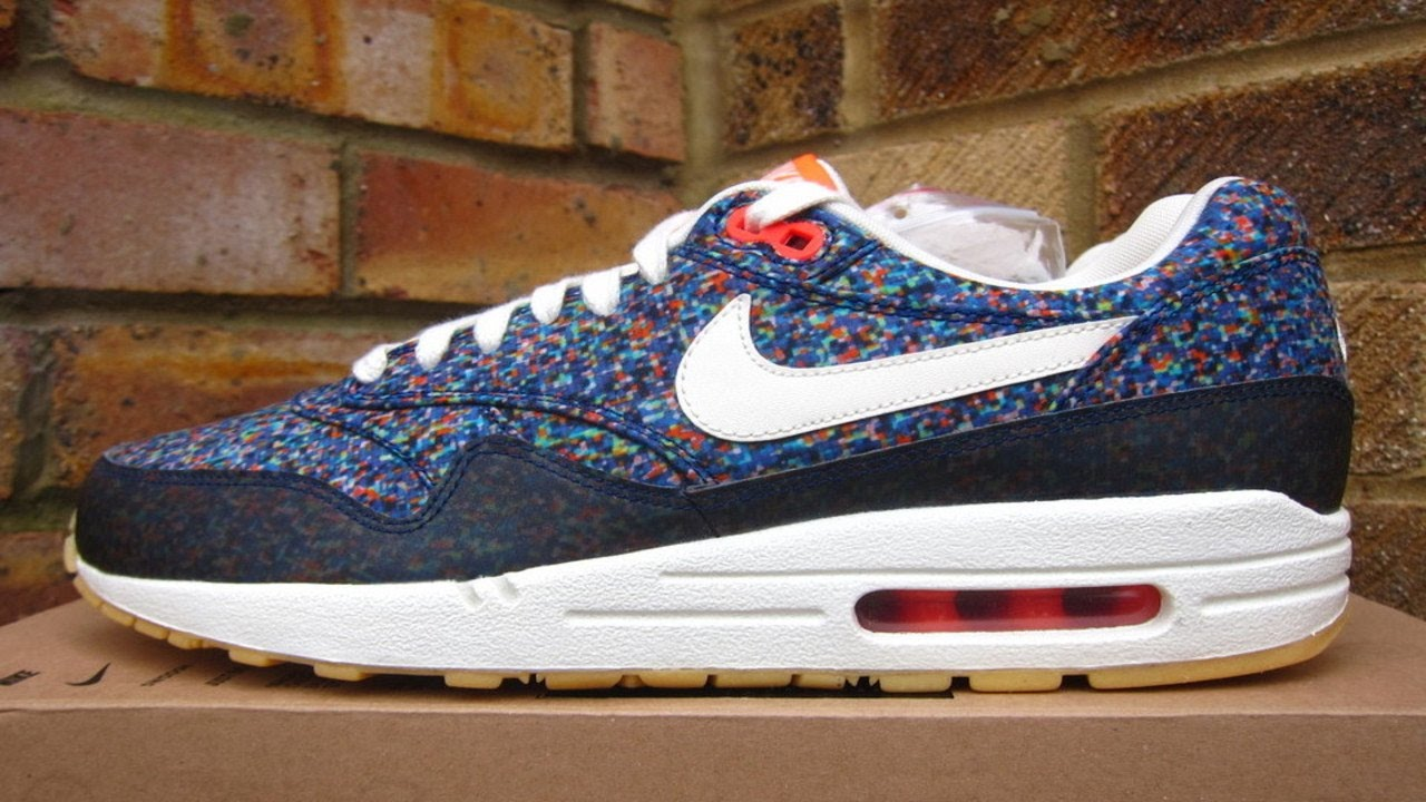 Review: Nike Air Max 1 Liberty Digital Pixels (2013) YouTube