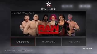 WWE 2k17 my universe