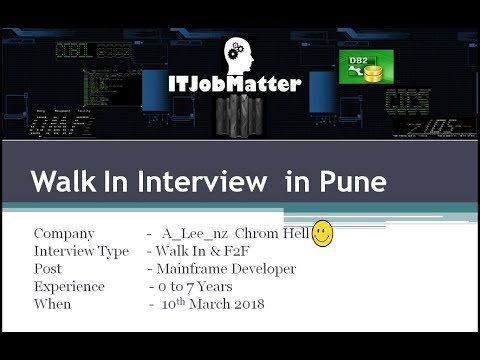 Job Interview Update in Pune ~ Job Interview skill training