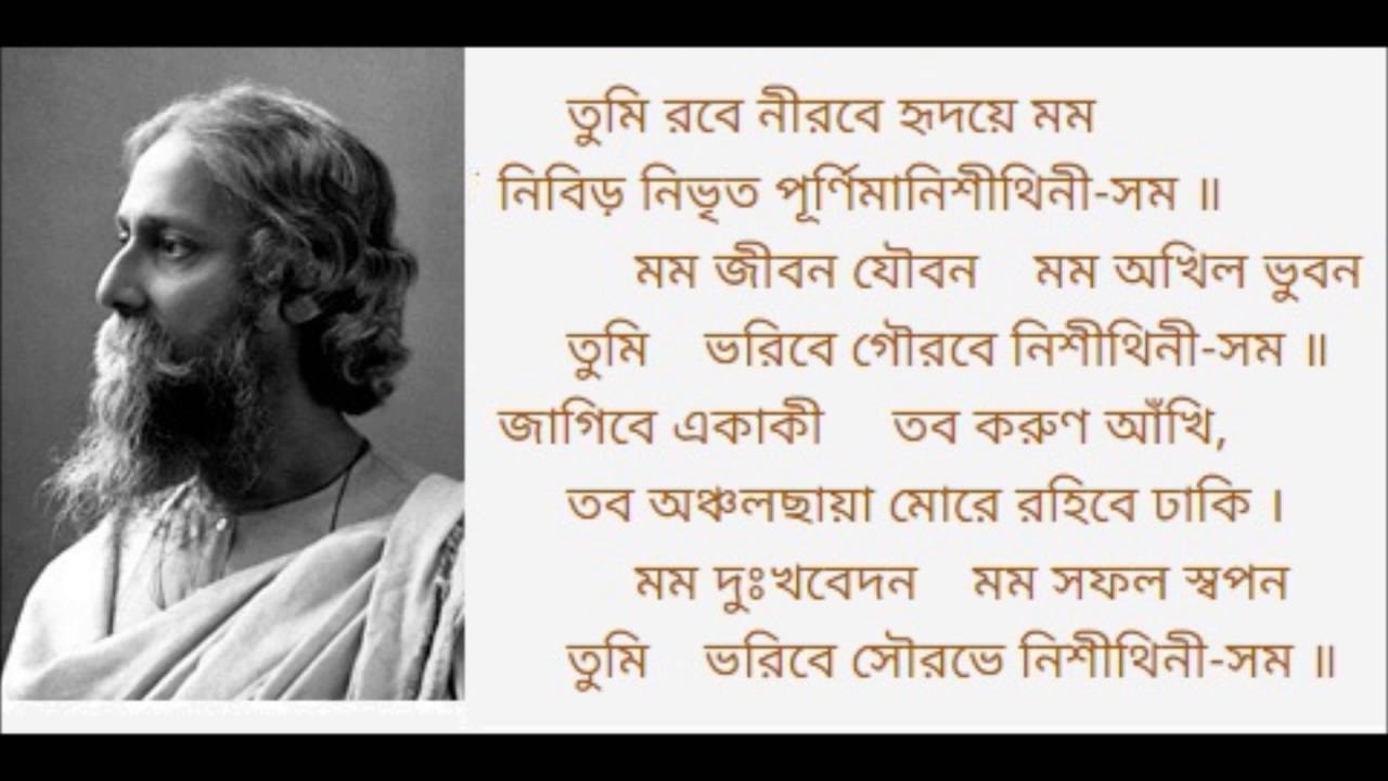 Complete information of Tagore songs - Geetabitan