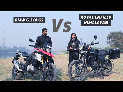 Royal Enfield Himalayan VS BMW G310 GS: Which ADV bike to buy!