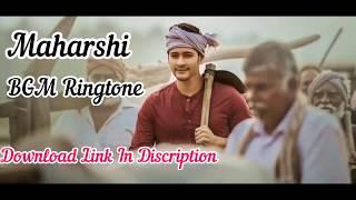 Maharshi Movie Ringtone BGM.Mahesh Babu(TA).