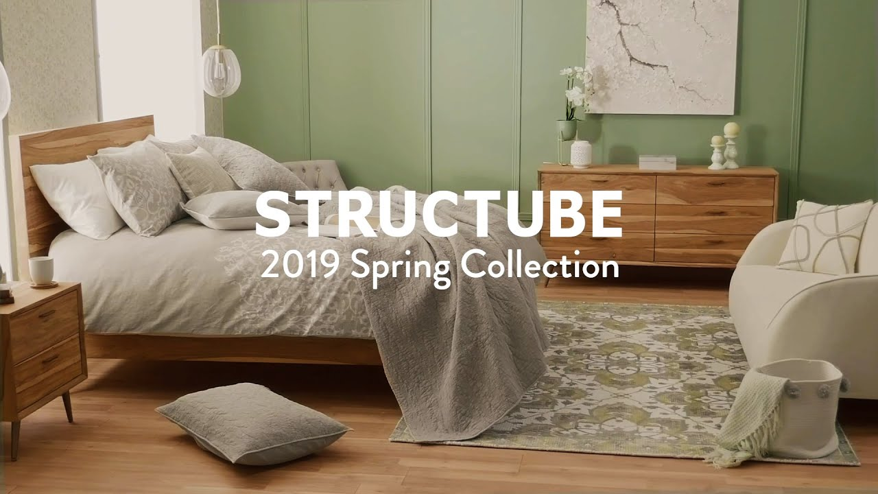 Structube Beds New Classics Collection
