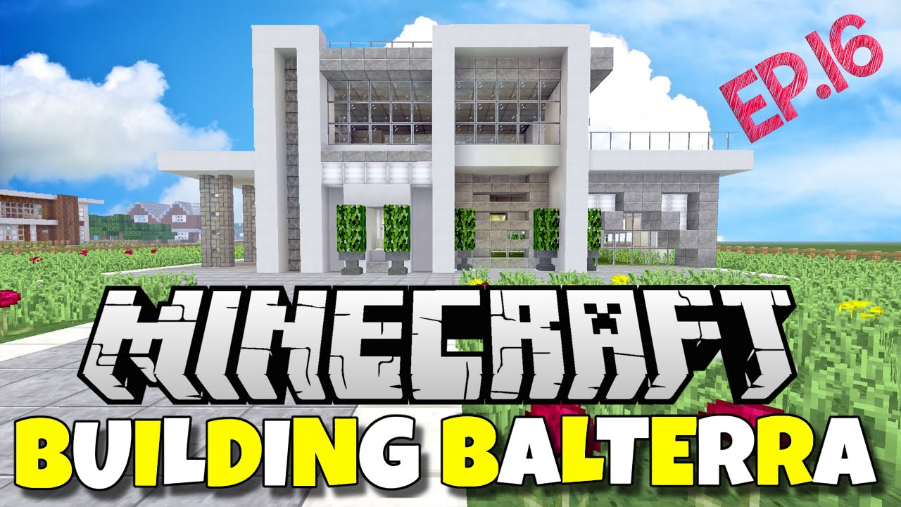 minecraft xbox ps4 building balterra episode 16 modern house