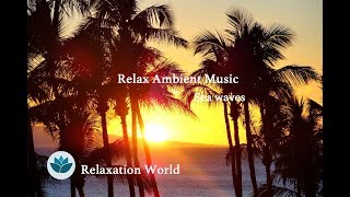 [Relax Ambient Music]  Sea Wave,  Relaxing Music *No2