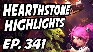 Hearthstone Daily Highlights | Ep. 341 | TrumpSC, nl_Kripp, yellowpaco, 윰찌니, AmazHS, PhenomenGames