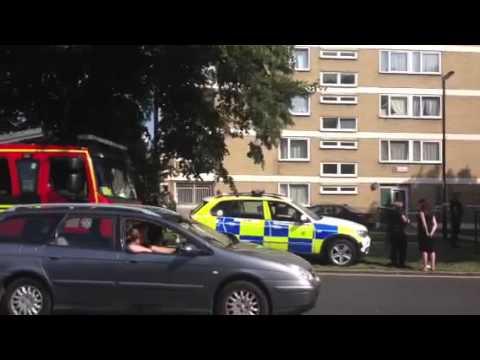 Man falls from tower block