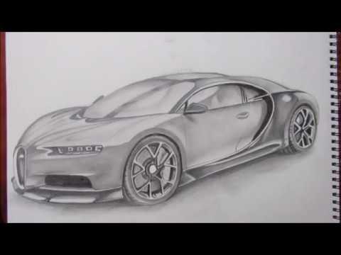 dibujando el bugatti chiron drawing the bugatti chiron youtube. Black Bedroom Furniture Sets. Home Design Ideas
