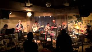 Mountain jam (4-2) Alman Brothers Band 高円寺JIROKICHI 20130202 森...