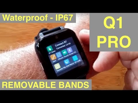 FINOW Q1 PRO Square Android 6 IP67 Waterproof 4G Cell (regional) Smartwatch: Unboxing and 1st Look