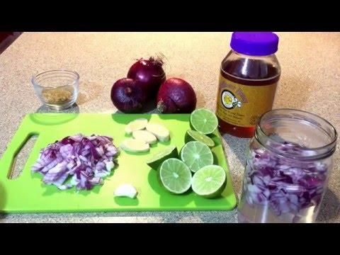 Jarabe de cebolla: elimina tos, flema y mocos parte # 1