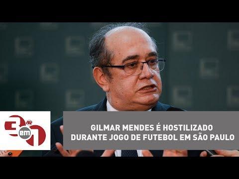 Gilmar Mendes é Hostilizado Durante Jogo De Futebol Em São Paulo
