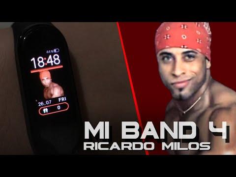 MI BAND 4 WatchFace do Ricardo Milos | TUTORIAL