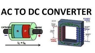 صمام ثنائي التعليمي وكيفية بناء AC DC إلى إمدادات الطاقة باستخدام محول