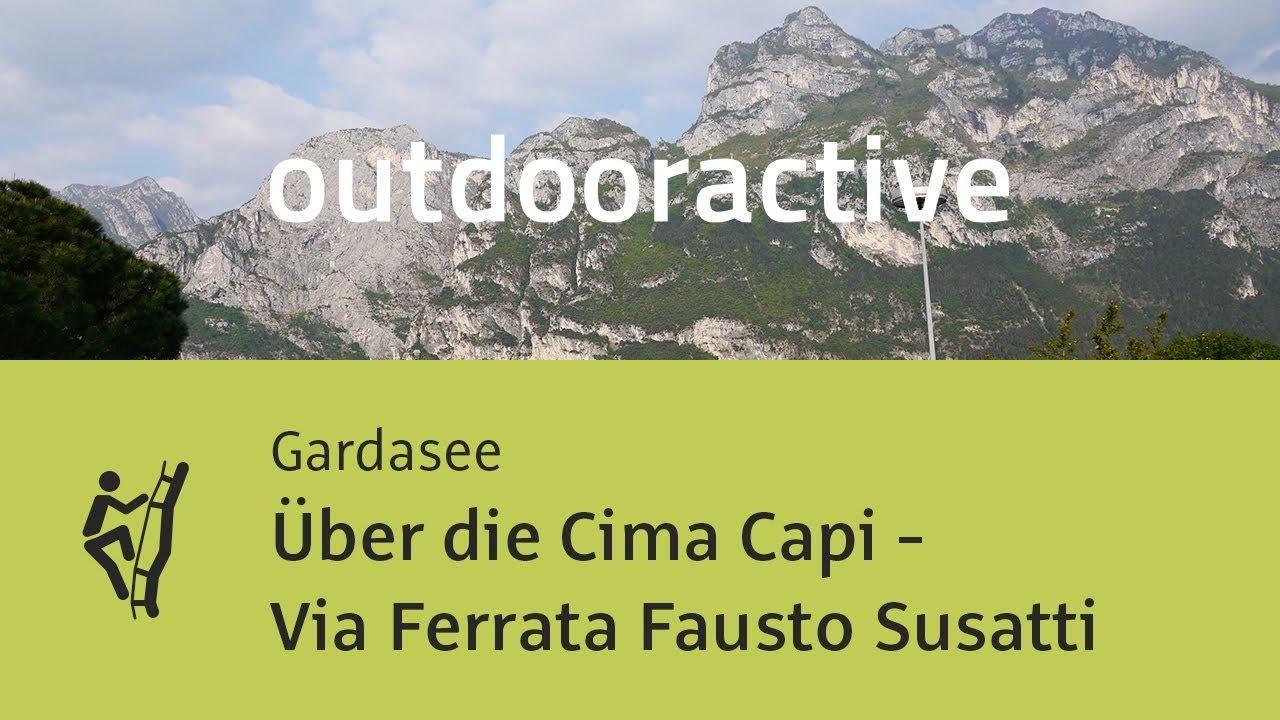 Klettersteig Cima Capi : Klettersteig: Über die cima capi via ferrata fausto susatti in 360
