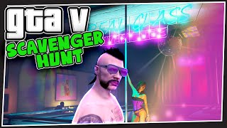 GTA 5 Online - Strip Club Selfies (Scavenger Hunt #1)