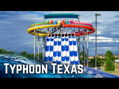 ALL Water Slides At Typhoon Texas Houston Water Park In Katy, Texas!