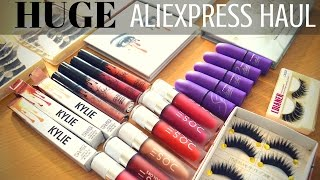 Video HUGE Aliexpress Haul | Swatches & Review!! download MP3, MP4, WEBM, AVI, FLV April 2018