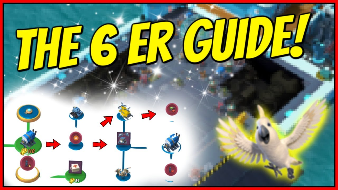 THE 6 ER Guide in Season 12! // Boom Beach Warships