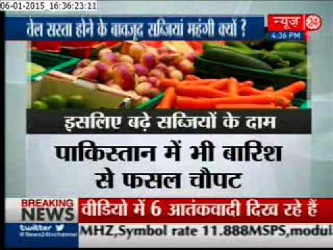 Delhi : Vegetable prices rise again, unseasonal rain hits crops and exports to Pak blamed