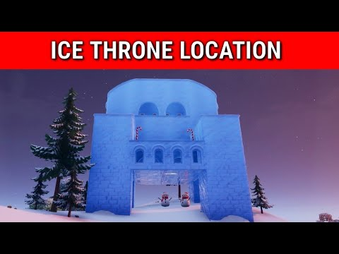 Fortnite Ice Throne Location (Winterfest Day 16) | Where Is The Ice Throne In Fortnite