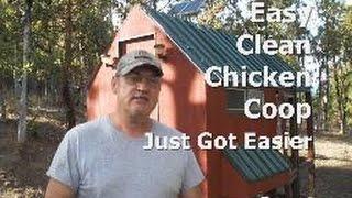 Easy Clean Chicken Coop Just Got Easier