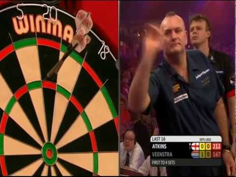 2016 World Darts Championships  Atkins v Veenstra