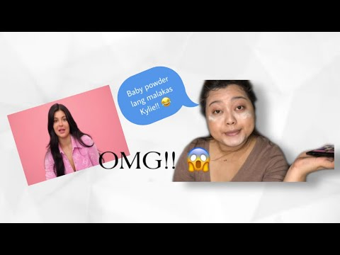 COPYING KYLIE JENNER 10MINUTES MAKEUP LOOK | ON A BUDGET !! 😂 | Gree Ta
