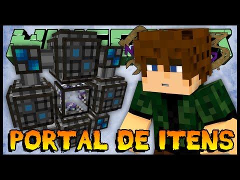Portal de Itens - Nofaxuland 3 #96 (Minecraft + Mods 1.6.4)