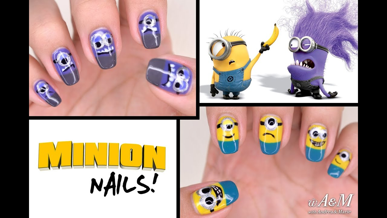 Despicable Me 2 Minion Nails [HD] - YouTube