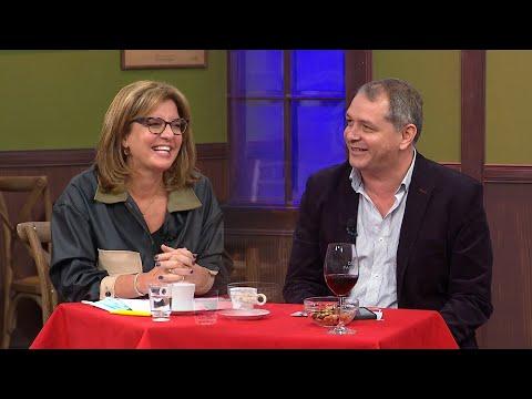 Guillermo López y la Dra. Alejandra Rey