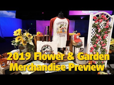 2019 Epcot International Flower & Garden Merchandise Preview