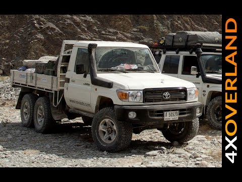 Toyota Land Cruiser 6x6. Do I want one? Dubai-Oman Part-3