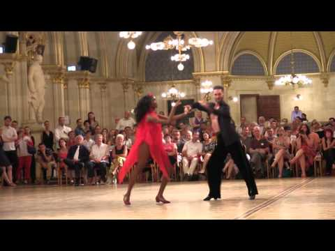 Mabuse - Iepure Couple 5 Final Latin Show Dance 2015 WDSF Vienna Dance Concourse