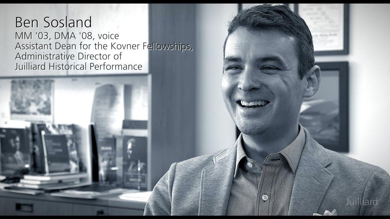 Juilliard Snapshot: Ben Sosland