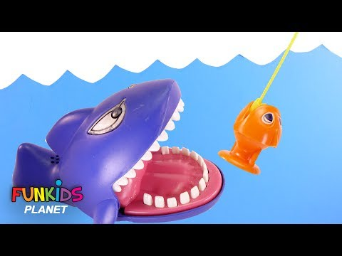 Paw Patrol Skye & Chase Let's Go Fishing with Sharks Color Fish Toys