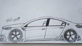 Araba çizim Resmi