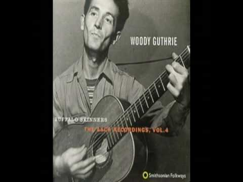 I Ride an Old Paint - Woody Guthrie