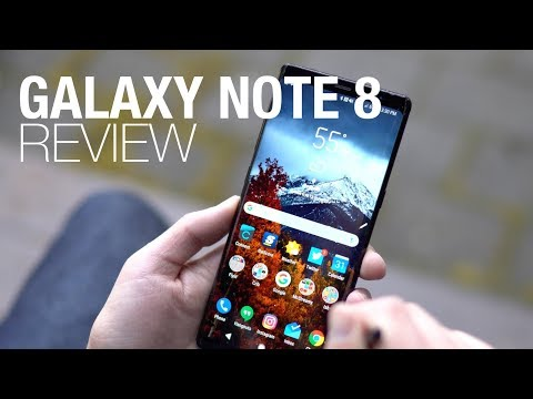 Galaxy Note 8 Review: So Good, So Huge