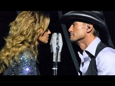 Tim McGraw and Faith Hill - Breathe (live)