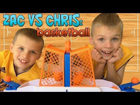 Twins NBA Finals Mini Basketball Challenge