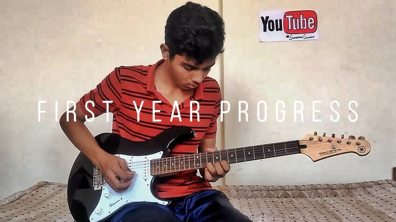 first year playing the electric guitar guitar progress self taught beginner guitar progress. Black Bedroom Furniture Sets. Home Design Ideas