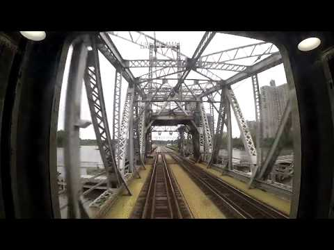 Amtrak Hellgate Line - F Interlocking to New Rochelle Rear View (GoPro)