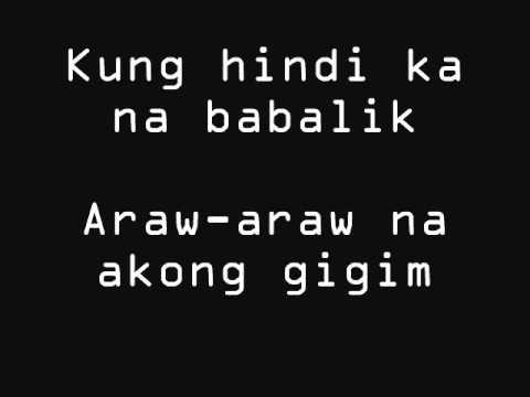 kung ayaw muna sa akin by sugarfree.lyrics