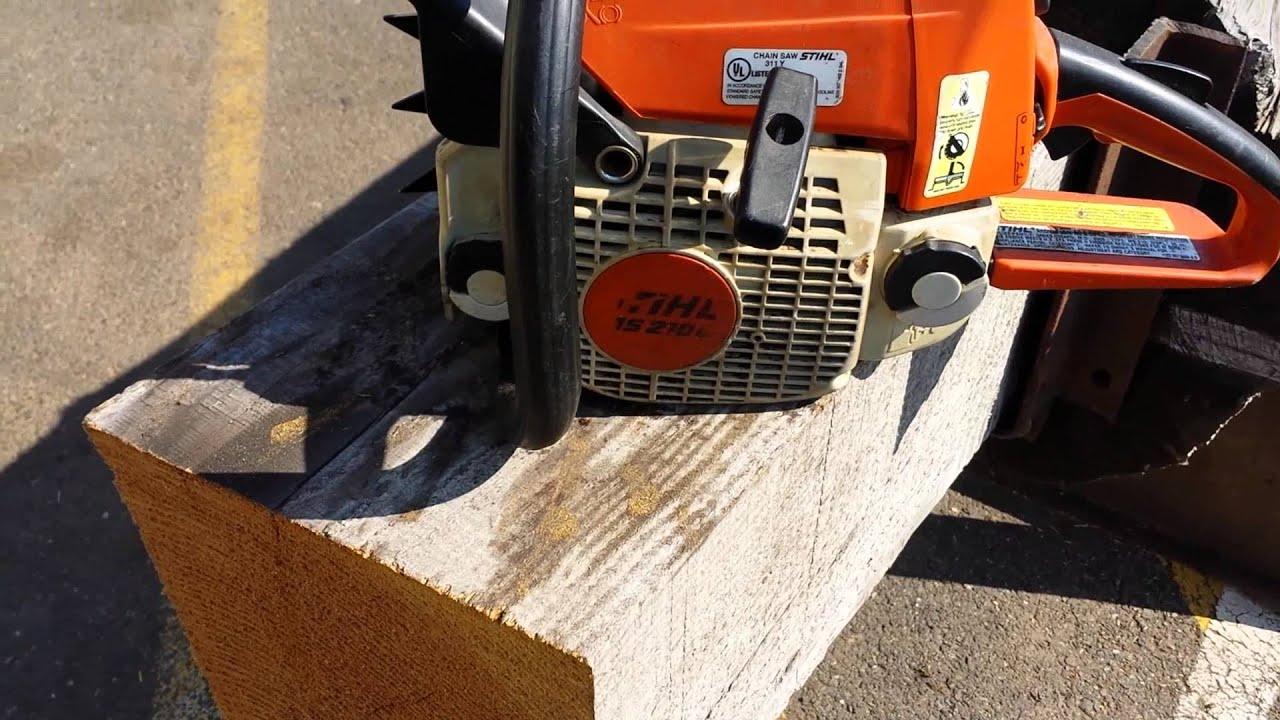 The chainsaw guy shop talk Stihl ms 250 muffler