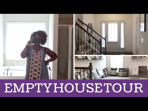 EMPTY HOUSE TOUR (UPGRADES & OPTIONS) | ATLANTA HOMES | #TEAMSHANIC